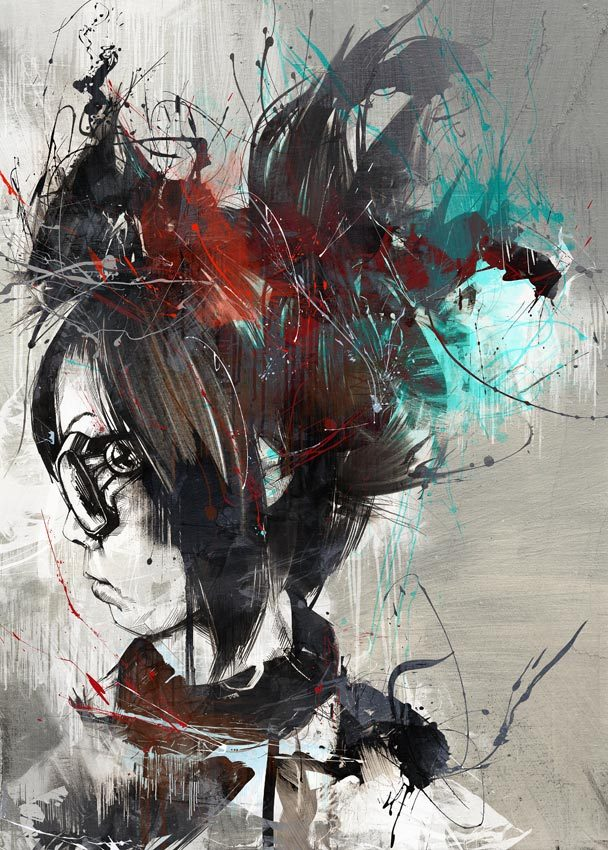 6ccbdcb7838a4d0131d089500b520a8e 20 Excellent Abstract Illustrations by Russ Mills