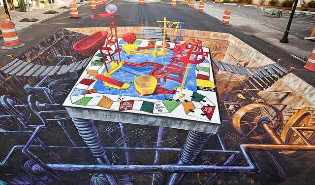 7264138668 e4dc1687f7 z1 What Chalk and Artistry Can Do – 20 Magnificent and Enthralling Samples of Chalk Art