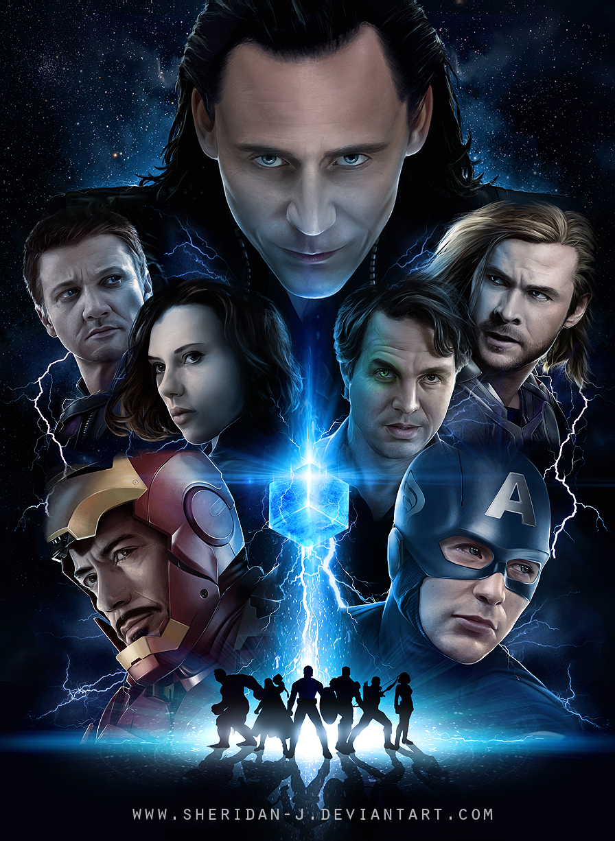 9000 the avengers by sheridan j d514g7g1 20 Jaw Dropping Photorealistic Works by Sheridan Johns