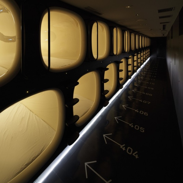 9hrs 3 Sleep Utopia: 5 Hip Capsule Hotels from Around the World