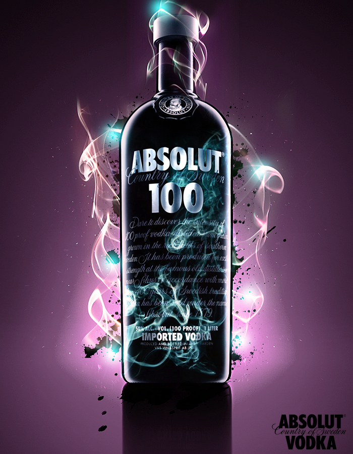 absolut vodka 100 by alvaro931 A World Icon: Absolut Vodka Advertisements and Designs