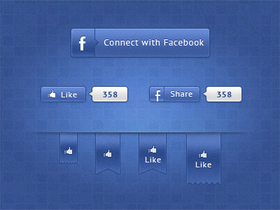 alternative facebook1 50 Stunning Pixel Perfect PSD Freebies #3