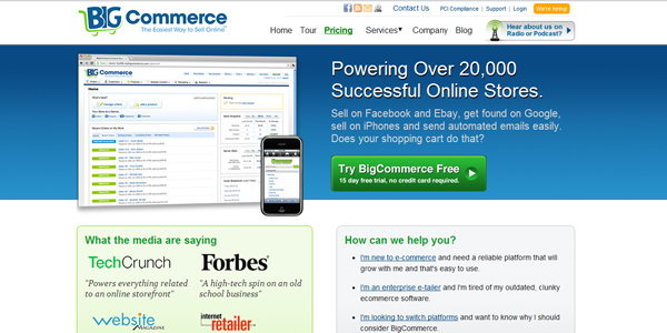 big commerce Best E Commerce Platforms that Help Small Businesses Cultivate