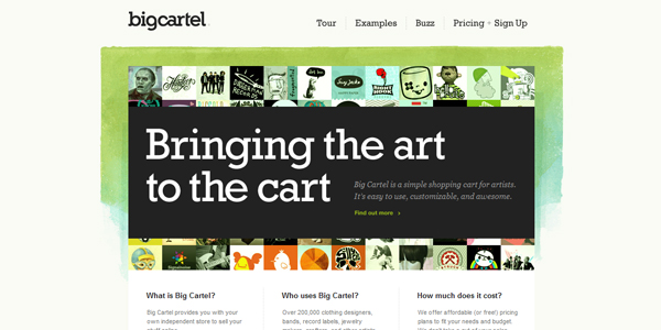 bigcartel Best E Commerce Platforms that Help Small Businesses Cultivate