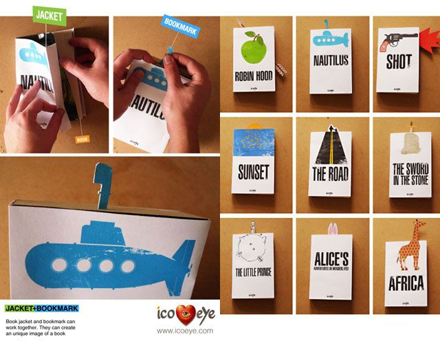 bmark 031 Print not Dead: 25 Creative Bookmark Designs