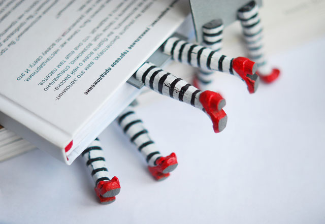 bmark 041 Print not Dead: 25 Creative Bookmark Designs
