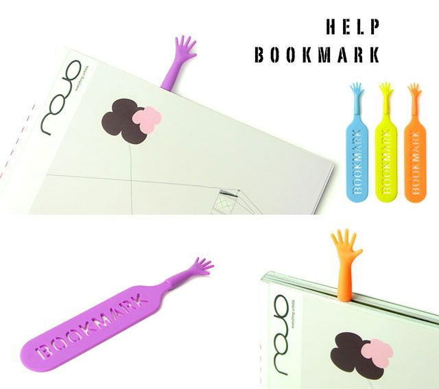 Print not Dead: 25 Creative Bookmark Designs | Inspirationfeed