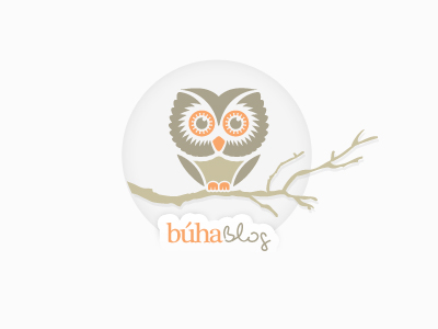 buha blog1 35 Wisdom Packed Owl Logo Designs