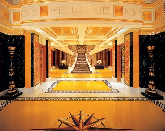 burjalarab royalsuite1 Optimized for Opulence: 7 Incredible Hotel Designs