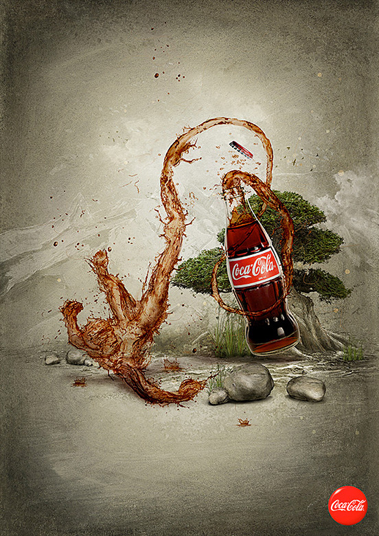 coca l1 50 Visionary Examples of Creative Photography #9