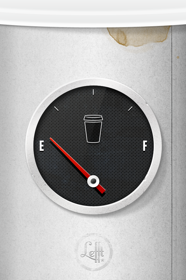 coffee gauge iphone retina 75+ Free Retina Display iPhone Wallpapers
