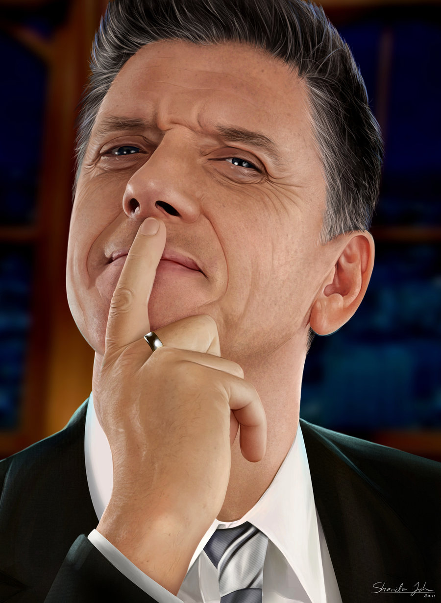 craig ferguson ver 2 by sheridan j d4u8wth1 20 Jaw Dropping Photorealistic Works by Sheridan Johns
