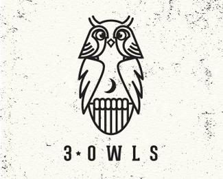 d48a79e46bbfaef298d1e0c3e7f20c9f1 35 Wisdom Packed Owl Logo Designs