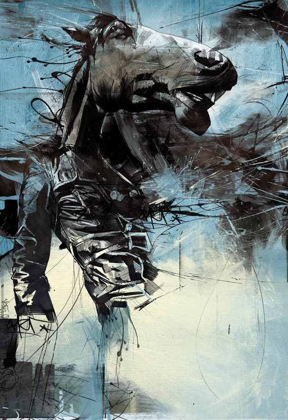 d731138172bf5322c9d0a33003d2fb76 20 Excellent Abstract Illustrations by Russ Mills