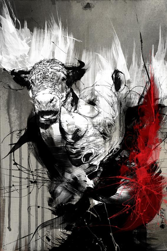 d84e51e2e107503ae973fe9eb7a50d07 20 Excellent Abstract Illustrations by Russ Mills