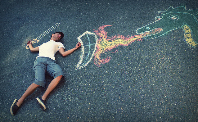 easy to draw but difficult to slay What Chalk and Artistry Can Do – 20 Magnificent and Enthralling Samples of Chalk Art