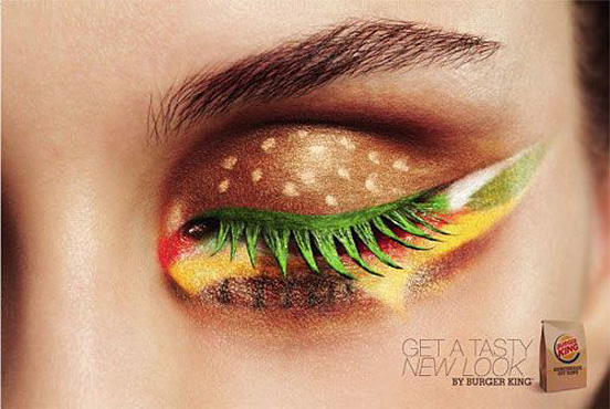 eye catching burger ad l1 50 Visionary Examples of Creative Photography #9