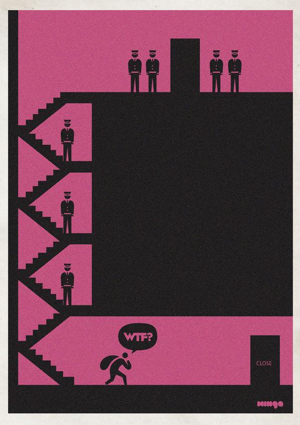 f35e5c579d4ee10e8c537dc045d386b4 Cleverly Hilarious WTF Posters By Estudio Minga