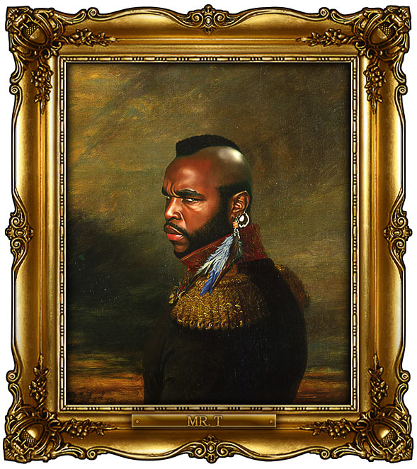 famous celebrities 19th century russian generals by george dawe mr t 1 Celebrities Digitally Painted As Russian Generals