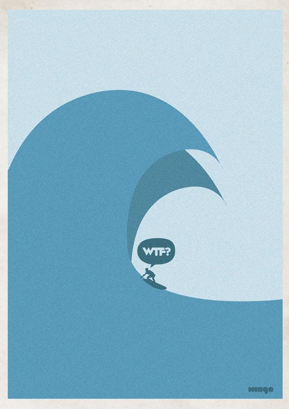 fd86dd0169c6403b6a5afa3055e03d9e Cleverly Hilarious WTF Posters By Estudio Minga