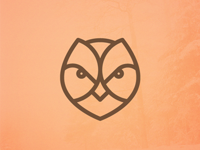 forest life 35 Wisdom Packed Owl Logo Designs