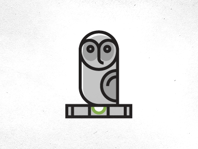 greyowl1 35 Wisdom Packed Owl Logo Designs