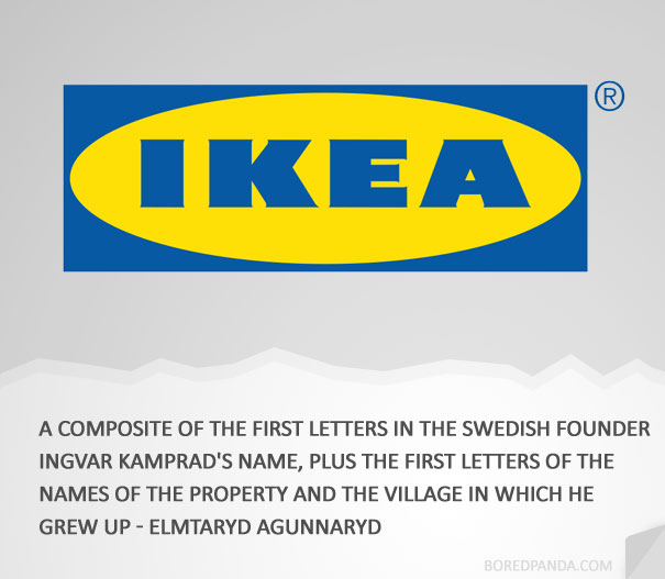 how famous companies got their names 11 How 30 Famous Companies Got Their Names