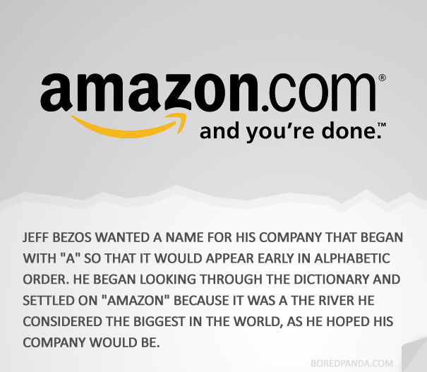 how famous companies got their names 5 How 30 Famous Companies Got Their Names
