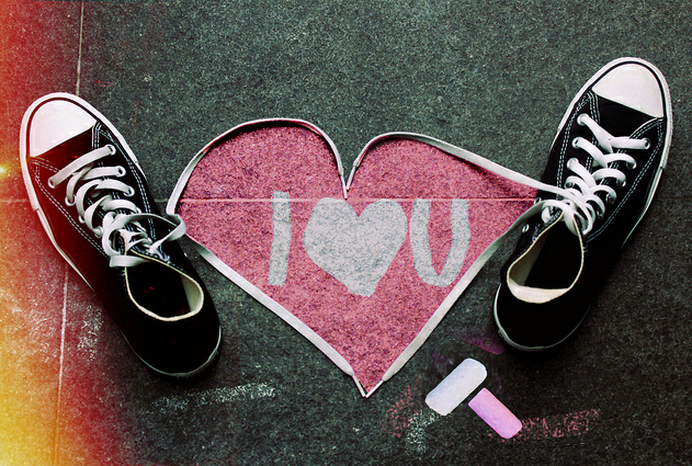 i love you too What Chalk and Artistry Can Do – 20 Magnificent and Enthralling Samples of Chalk Art