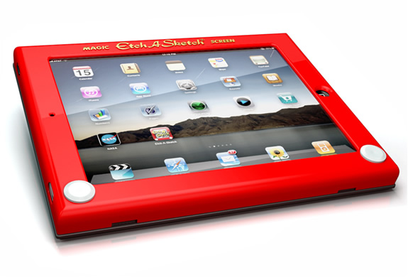 img etch sketch ipad case1 15+ Innovative Accessories for your iPad