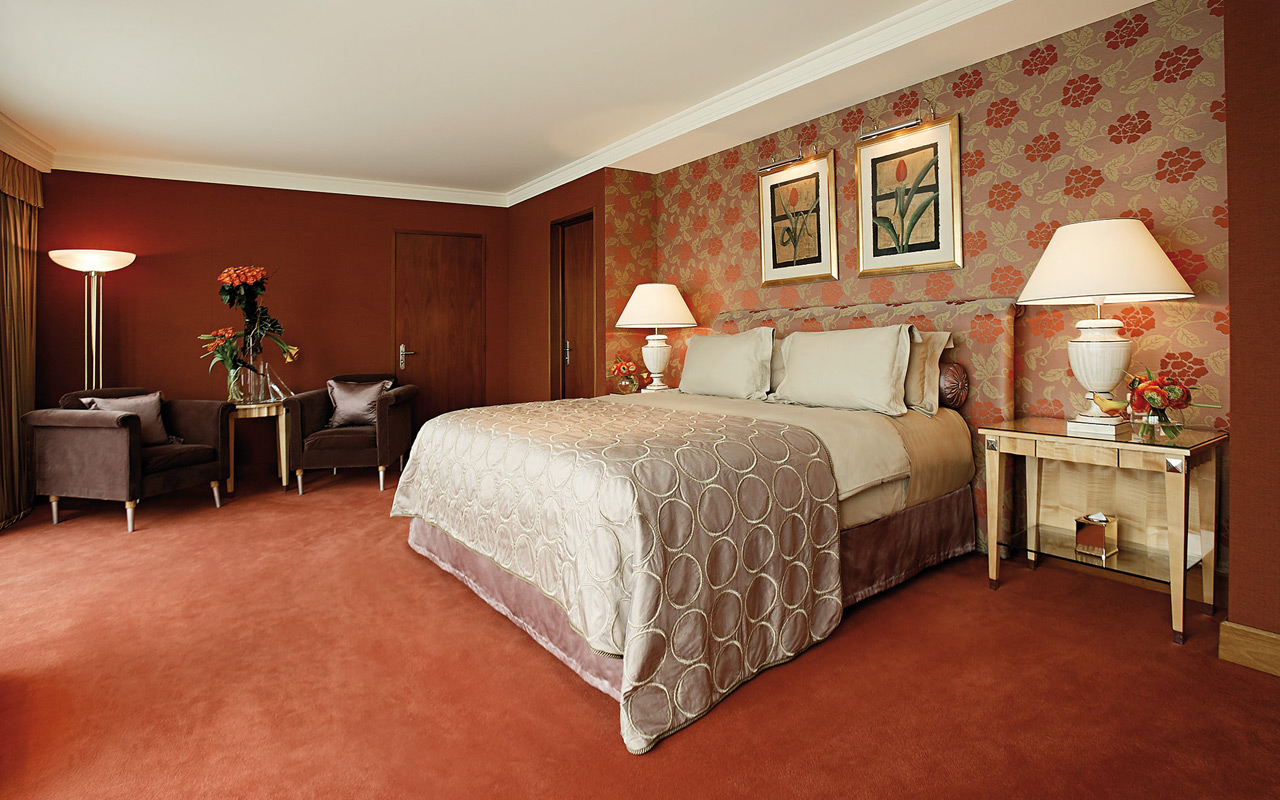 interior of royal penthouse suite president wilson hotel1 Optimized for Opulence: 7 Incredible Hotel Designs