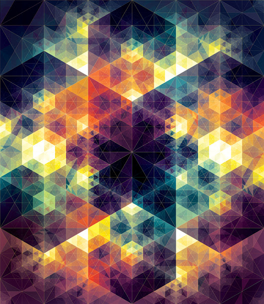 kaleidoscope by andy gilmore 1 Kaleidoscopic and Hypnotic Geometric Compositions by Andy Gilmore