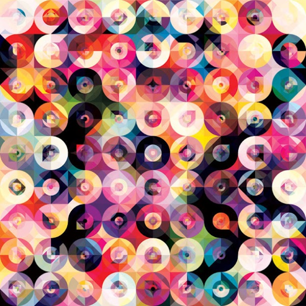 kaleidoscope by andy gilmore 10 Kaleidoscopic and Hypnotic Geometric Compositions by Andy Gilmore
