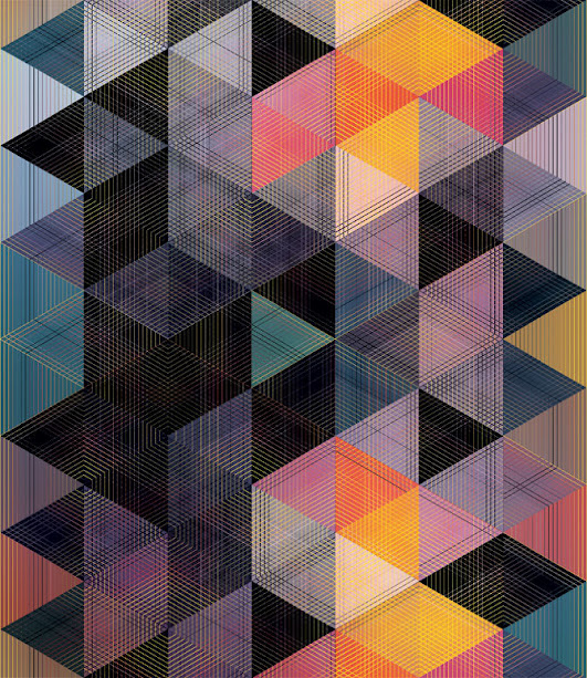kaleidoscope by andy gilmore 11 Kaleidoscopic and Hypnotic Geometric Compositions by Andy Gilmore