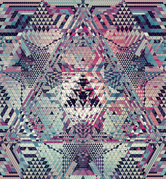 kaleidoscope by andy gilmore 12 Kaleidoscopic and Hypnotic Geometric Compositions by Andy Gilmore