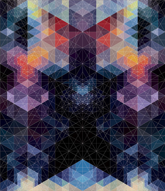kaleidoscope by andy gilmore 14 Kaleidoscopic and Hypnotic Geometric Compositions by Andy Gilmore