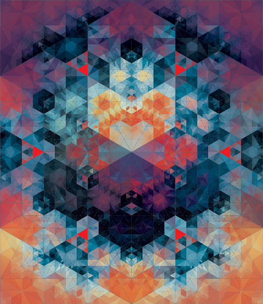 kaleidoscope by andy gilmore 3 Kaleidoscopic and Hypnotic Geometric Compositions by Andy Gilmore
