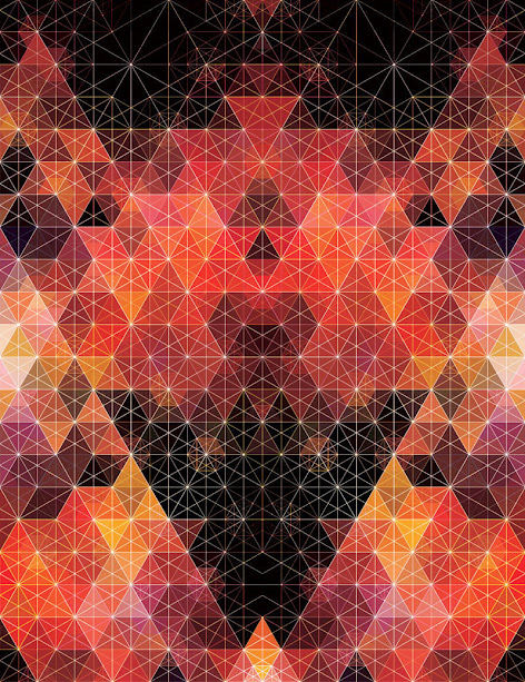 kaleidoscope by andy gilmore 4 Kaleidoscopic and Hypnotic Geometric Compositions by Andy Gilmore