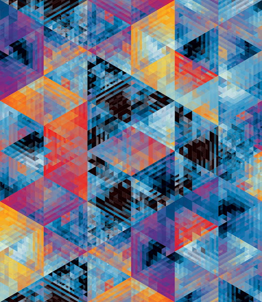 kaleidoscope by andy gilmore 5 Kaleidoscopic and Hypnotic Geometric Compositions by Andy Gilmore