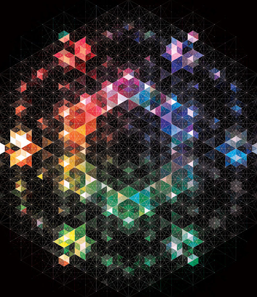 kaleidoscope by andy gilmore 6 Kaleidoscopic and Hypnotic Geometric Compositions by Andy Gilmore