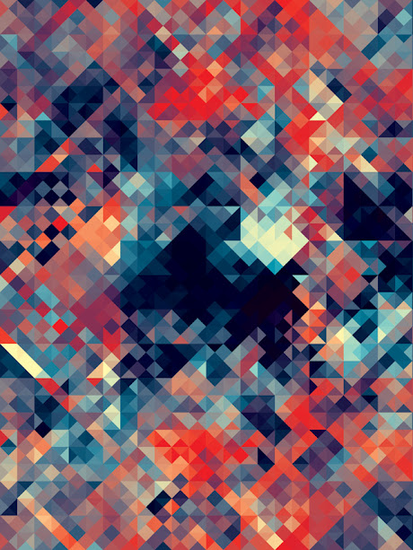 kaleidoscope by andy gilmore 9 Kaleidoscopic and Hypnotic Geometric Compositions by Andy Gilmore