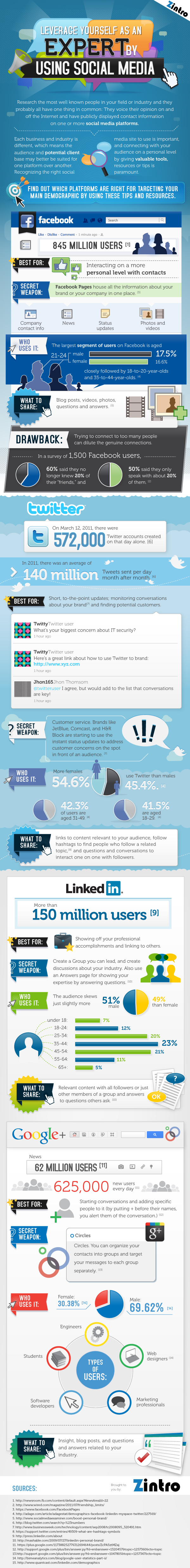 leveraging social media Leveraging Social Media to Showcase Your Expertise [INFOGRAPHIC]