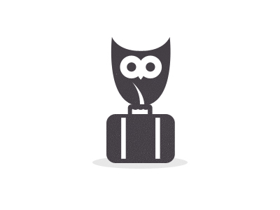 logo1 35 Wisdom Packed Owl Logo Designs