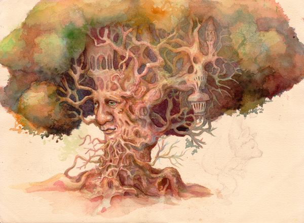 mister tree600 Fascinating Factual Illustrations by Marcelo Gallegos