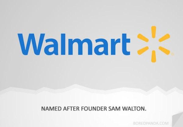name origin explanation walmart1 How 30 Famous Companies Got Their Names