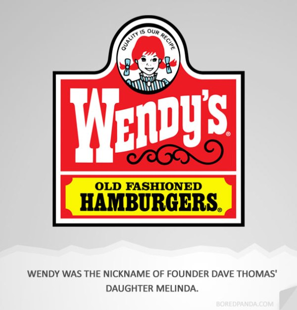 name origin explanation wendys1 How 30 Famous Companies Got Their Names