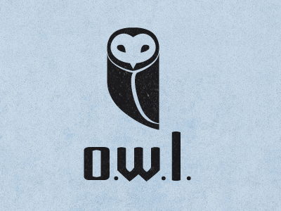 owl fin21 35 Wisdom Packed Owl Logo Designs