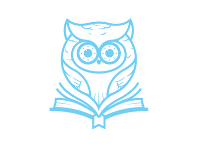 owl 4  021 35 Wisdom Packed Owl Logo Designs