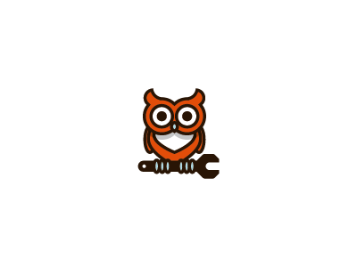 owl upd1 35 Wisdom Packed Owl Logo Designs