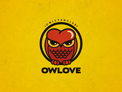 owlove1 35 Wisdom Packed Owl Logo Designs